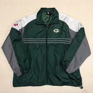 Green Bay Packers - NFL Reebok Mens Windbreaker